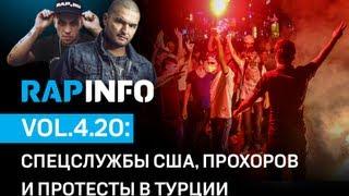 RAPINFO - Спецслужбы США, Прохоров и протесты в Турции