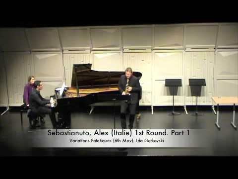 Sebastianuto, Alex (Italie) 1st Round. Part 1