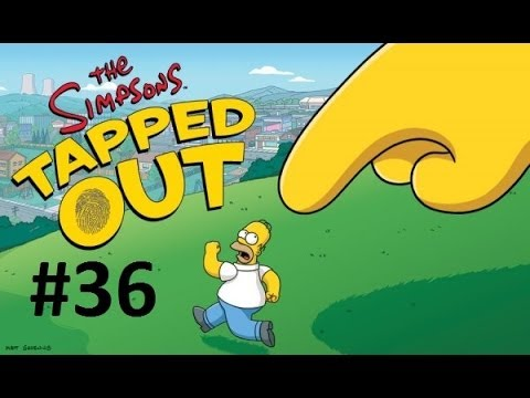 Играем в The Simpsons:Tapped Out #36 (Где Задания?)