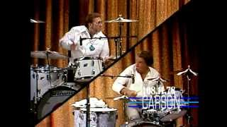 Johnny Carson: Buddy Rich and Ed Shaughnessy Play Drums, 1978