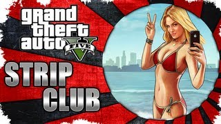 GTA V Having Too Much Fun At The Strip Club (Vanilla