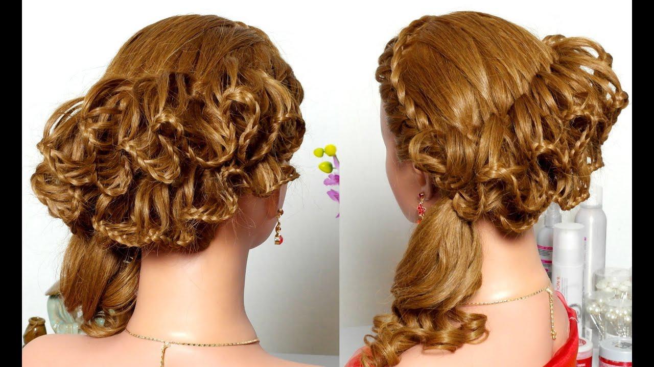 Прически для длинных волос на основе косы фото8
