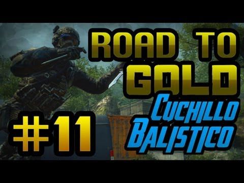 FINAL PICO!!! Episodio 11 - Road To Gold: Cuchillo Balstico | Willyrex