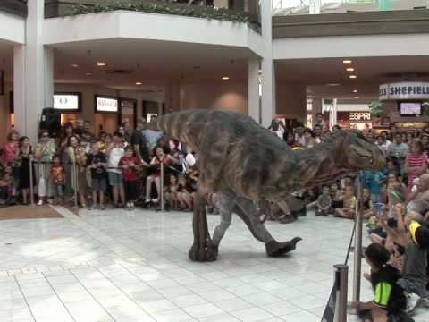 Baby T-Rex at Guilford Mall - Walking with Dinosaurs