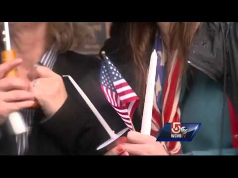 Vigil held to honor Boston firefighters killed in Back Bay