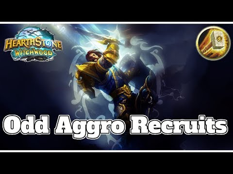 Odd Aggro Silver Hand Recruits Paladin Witchwood | Hearthstone Guide How To Play