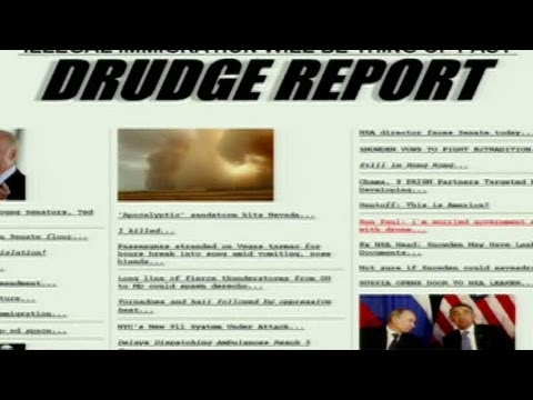 Drudge Attacked With Drive-By Hacking
