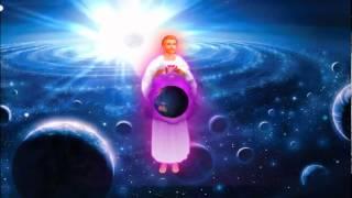 El Amado Saint Germain Envuelve Con Llama Violeta A La