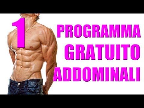 Allenamento Addominali con 4 esercizi - Personal Trainer #48