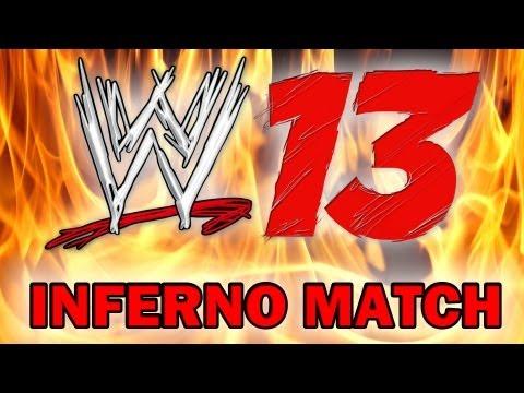 WWE 13' - Brodus Clay vs. Alberto Del Rio - Inferno Match