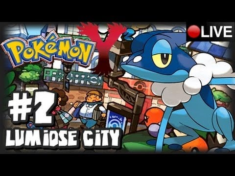 Pokemon Y 3DS - Pokemon X & Y Livestream Part 2