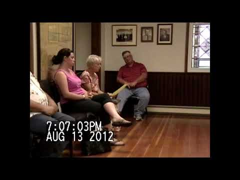 Chazy Town Board Meeting 8-13-12