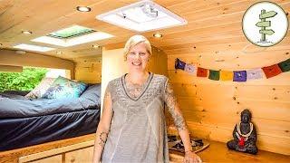 VanLife as Long Term Housing Solution for Solo Female + Epic Camper Van Tour
