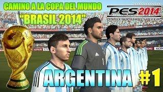 "PES 14: ""ARGENTINA Camino A La Copa Del Mundo Brasil"