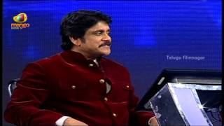 Nagarjuna funny Interview with Amala @ Meelo Evaru Koteeswarudu TV Game Show Launch