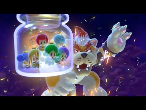 Super Mario 3D World Final Battle + Ending Credits [WII U]