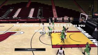 NBA 2K11 How To Do An Alley Oop In NBA 2K11 / PS3, XBOX