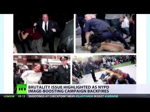 #MyNYPD: Victims troll NY-cop PR with shots of violent men-in-uniform