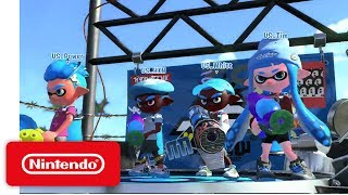 2017 Splatoon 2 Inkling Invitational - Semifinal 2: Australia vs USA - Nintendo E3 2017