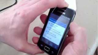 How To Unlock Samsung S5830 Galaxy Ace Android Phone HD