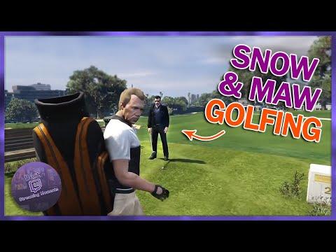 NoPixel SNOW & MAW BONDING OVER GOLF, HOA SEMEN PLAN | GTA 5 RP Funny Moments/Highlights 184