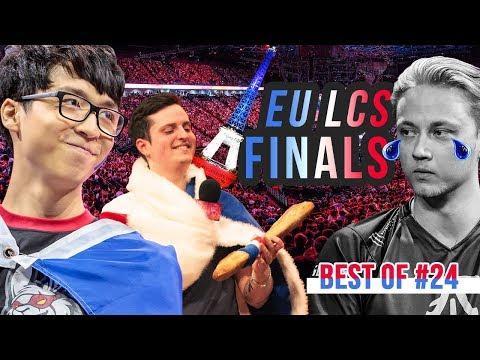 BEST OF LOL #24 - EU LCS FINALS - League of Legends