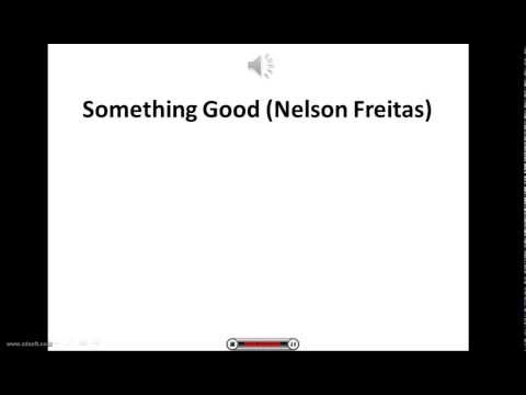 Nelson Freitas- something good Lyric