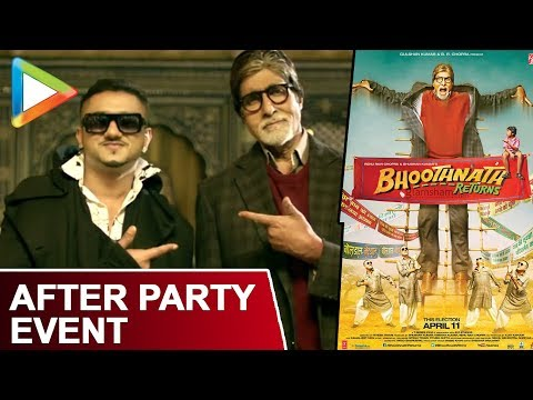 Exclusive - Media After Party With Bhoothnath Returns | Yo Yo Honey Singh | Amitabh Bachchan