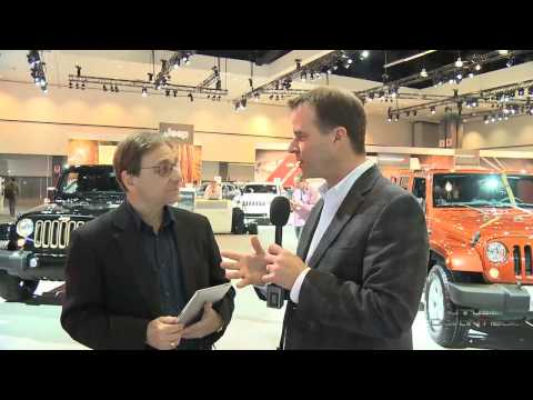 Jeep Wrangler Willys Wheeler at the Los Angeles Auto Show with Jim Mor