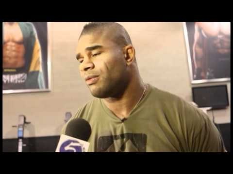 Alistair Overeem UFC 141 Pre-Fight Interview