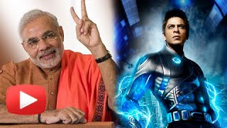 BJP's Narendra Modi Approached For Ra One 2 - It's FUNNY