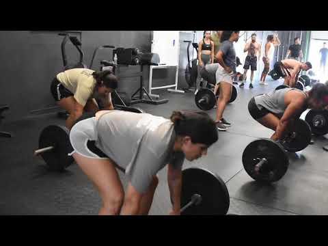 Monday CrossFit Training (8/3/20)