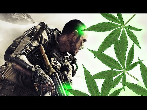 Getting STONED on Call Of Duty GHOSTS and Black Ops! (Voice Trolling High?)