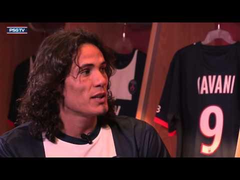 Entrevista de Edinson Cavani (Español)