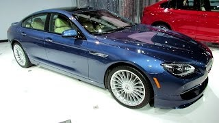 2015 BMW Alpina B6 Gran Coupe - Exterior and Interior Walkaround - Debut at 2014 New York Auto Show