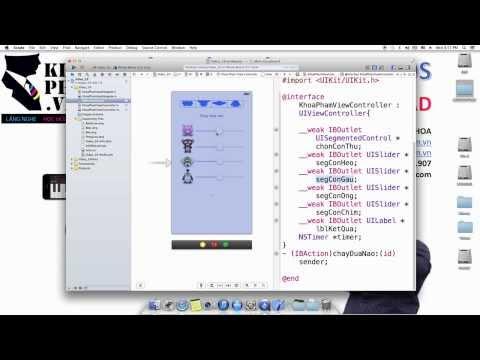 Lập trình ios [Bài 19 /23] Viết ứng dụng Game đua thú