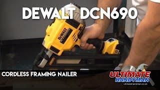 Dewalt DCN690 cordless framing nailer