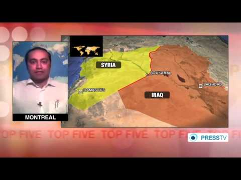 Nazemroaya: The Caliphate that the ISIL Supports is a US Project