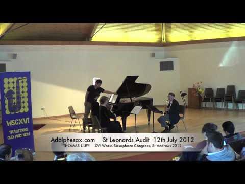 WSCXVI THOMAS LILEY   Trio in g minor after Brahms by David DeBoor Canfield