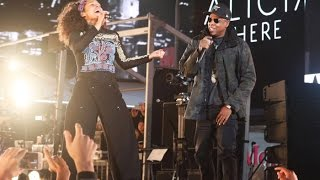 Alicia Keys & Jay Z - Empire State of Mind LIVE (HERE in Times Square) 2016