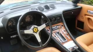 Ferrari 400 Automatic V12 Weber Carburatore 1979