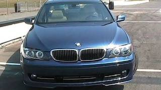 Roadfly.com - Racing in a 2007 BMW Alpina B7 videos