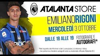 Atalanta Store: special guest Emiliano Rigoni