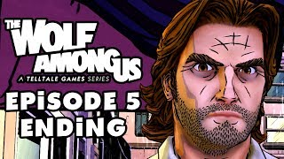 The Wolf Among Us Episode 5: Cry Wolf, Part 4: Ending