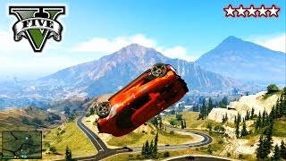 GTA 5 Stunts And Jumps! FreeRoaming With The CREW