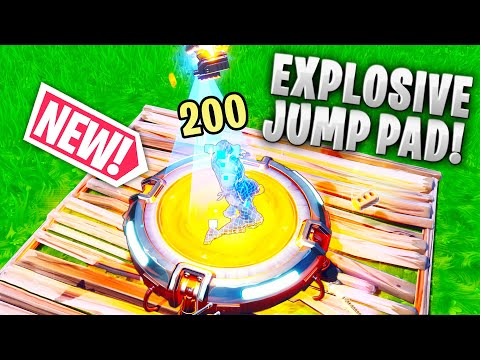 *NEW* EXPLOSIVE Jump Pad! - Fortnite Funny WTF Fails and Daily Best Moments Ep.1376