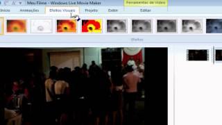 Clareando Vídeos Escuros Usando O Windows Live Movie