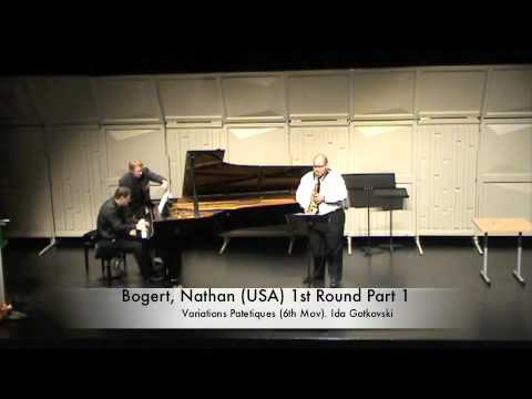Bogert, Nathan (USA) 1st Round Part 1