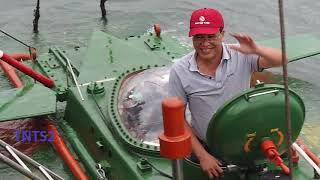 298. Tàu ngầm Hoàng Sa chế tạo tại Việt Nam đã thử nghiệm thành công trên biển ...