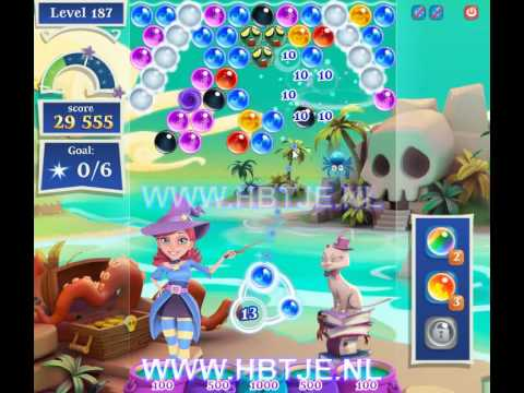 Bubble Witch Saga 2 level 187